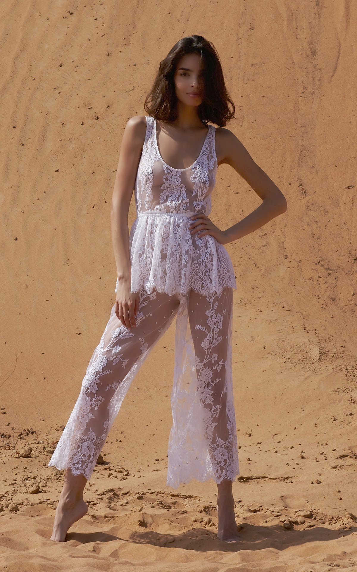ROSAMOSARIO_A-princess-called-Meera_Fattima-the-young-bride_Lace-top-_-pants_White_1