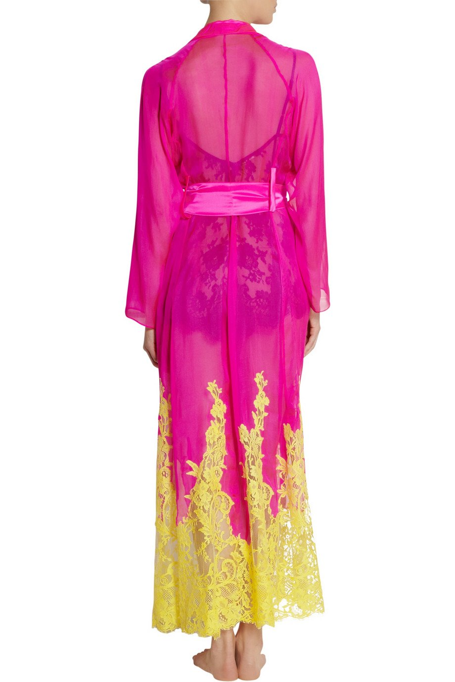 rosamosario-pink-bling-bling-love-lace-trimmed-silk-robe-product-1-26539546-3-159862342-normal
