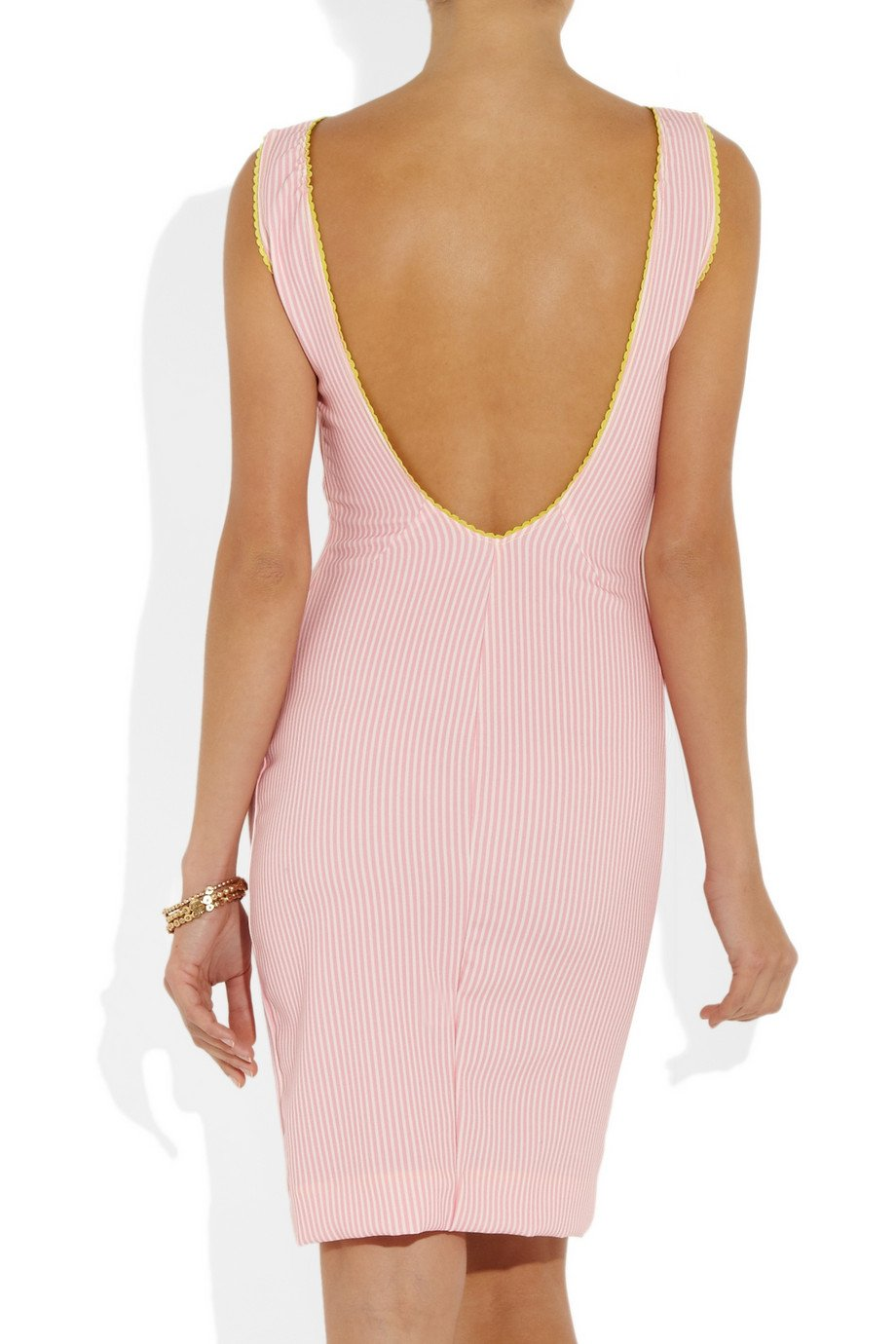 rosamosario-pink-lovers-en-space-striped-cottonblend-dress-product-3-10822189-966336628